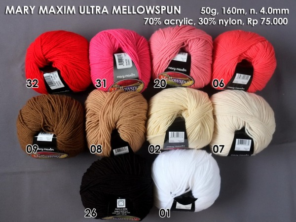 Mary Maxim Ultra Mellowspun