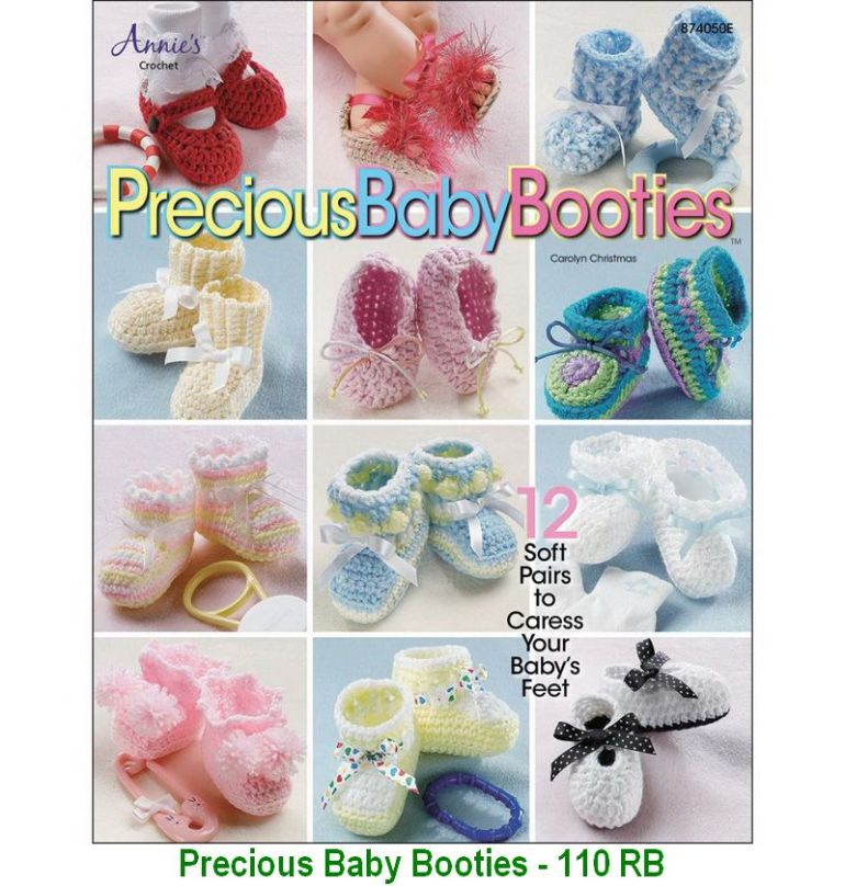 Precious Baby Booties - 110 RB