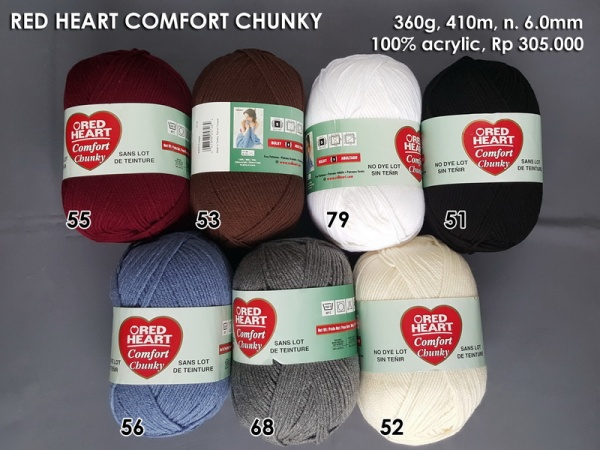 Red Heart Comfort Chunky