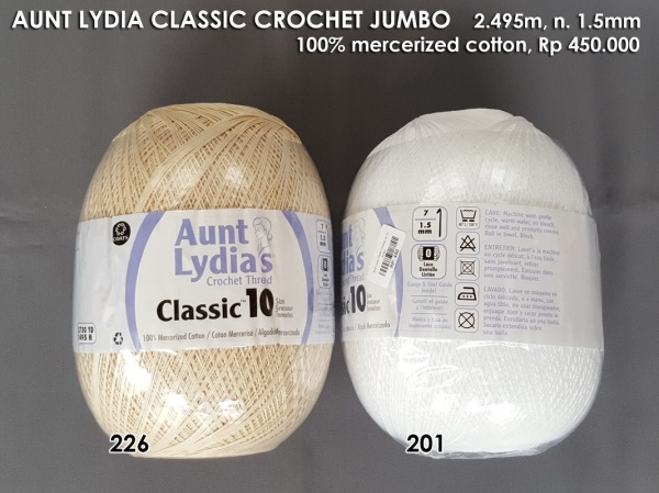 Aunt Lydia Classic Crochet Jumbo