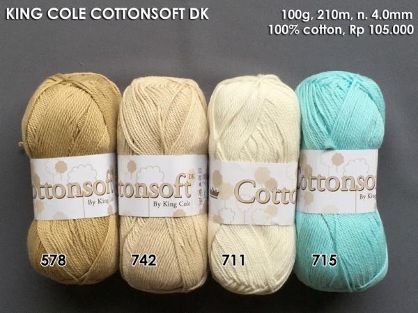 KIng Cole Cottonsoft DK