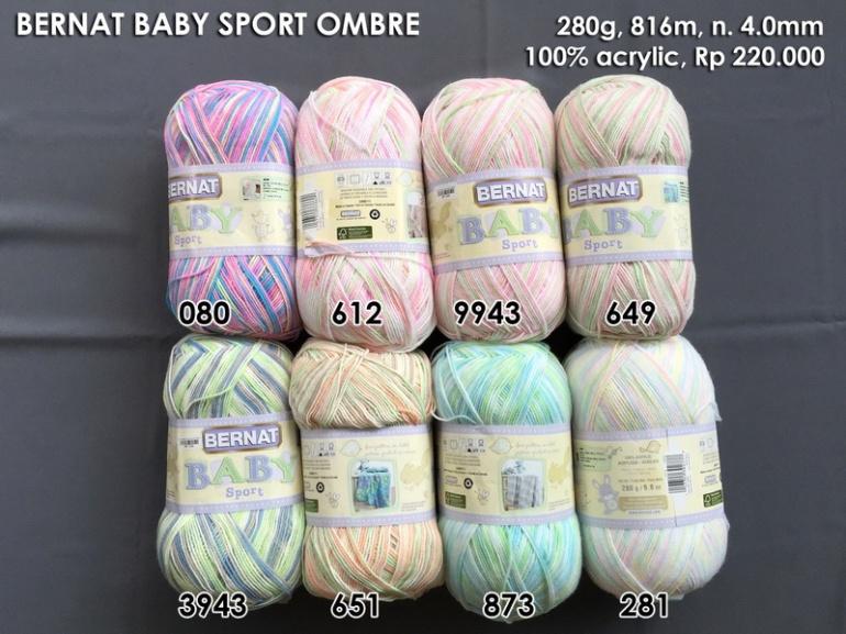 Bernat Baby Sport Ombre
