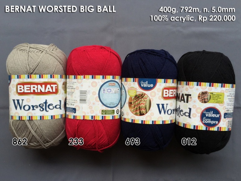Bernat Worsted Big Ball