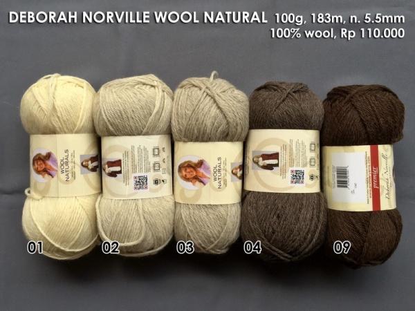 Deborah Norville Wool Natural
