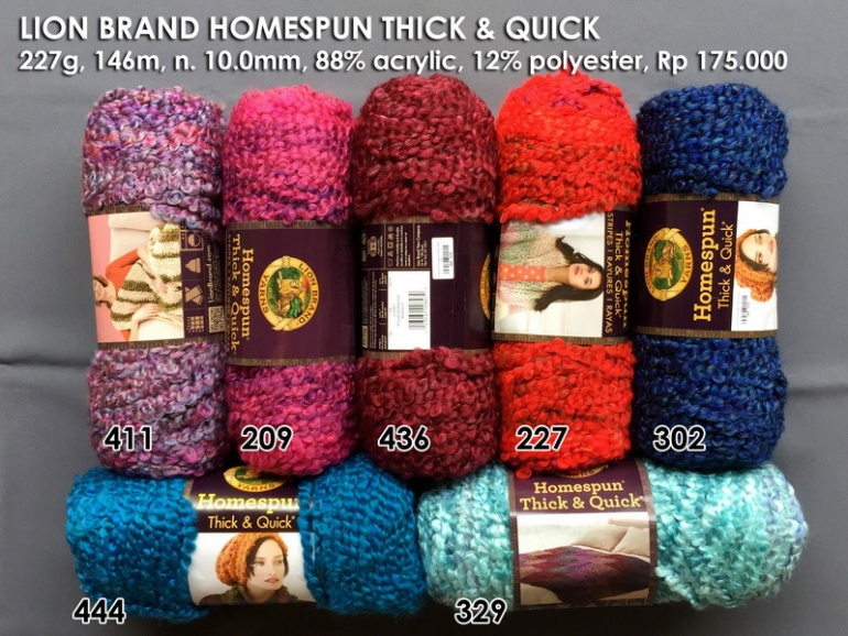 Lion Brand Homespun Thick & Quick p2
