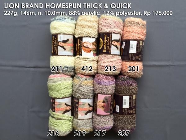 Lion Brand Homespun Thick & Quick