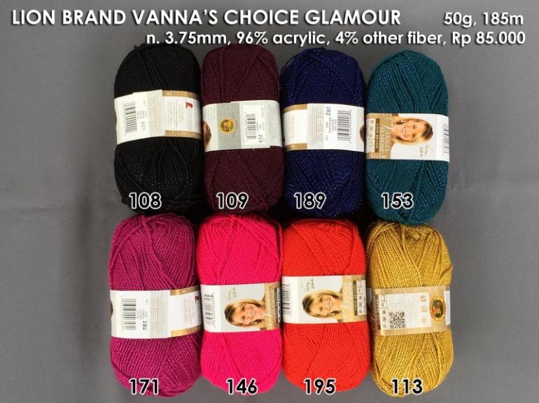 Lion Brand Vannas Choice Glamour