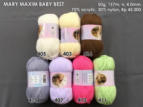 Mary Maxim Baby Best