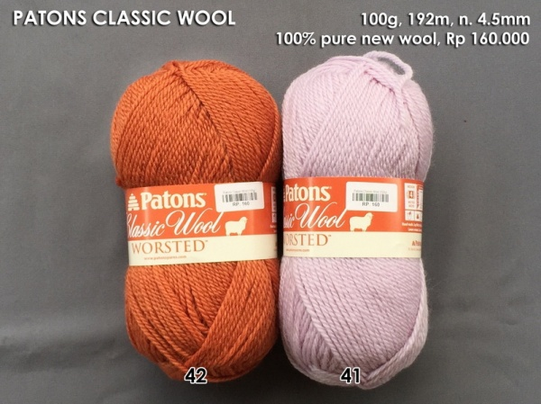 Patons Classic Wool