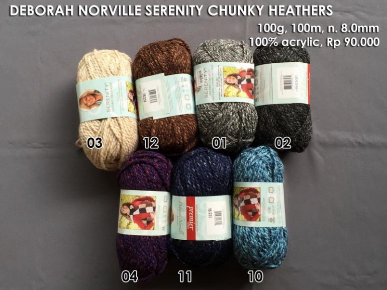deborah-norville-serenity-chunky-heathers