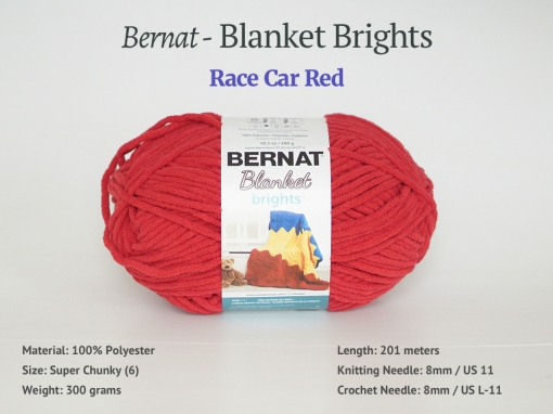 Blanket_RaceCarRed