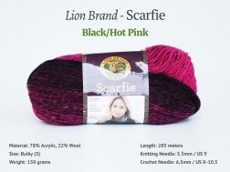 Scarfie_213-BlackHotPink