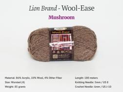 WoolEase_Mushroom